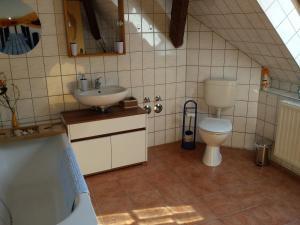 Ein Badezimmer in der Unterkunft 4 JahresZeiten