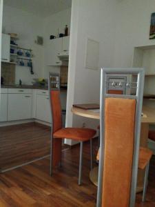 Küche/Küchenzeile in der Unterkunft 4 JahresZeiten