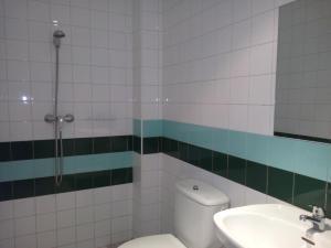 A bathroom at Albergue El Floran