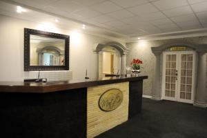 The lobby or reception area at Mont d'Or Clarens