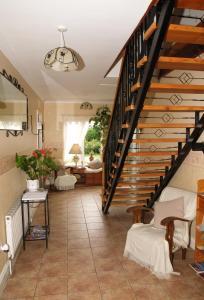 Hall ou réception de l'établissement Killurin Lodge