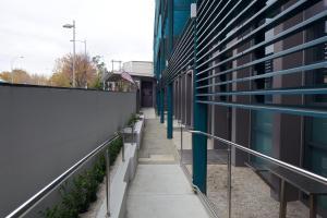 Балкон или терраса в Zero Davey Boutique Apartment Hotel