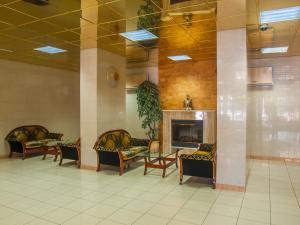 Лобби или стойка регистрации в Гостиница Мир