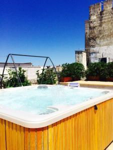 The swimming pool at or near Castello Conti Filo