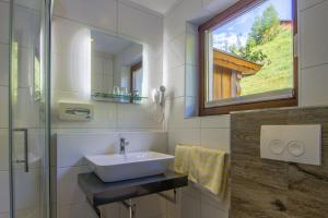 Koupelna v ubytování Gasthof zum Kaiserweg