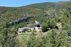 A bird's-eye view of Albergue Casa Fumenal