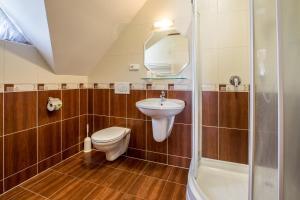 A bathroom at Penzión Ingrid