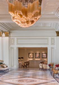 The lobby or reception area at Palazzo Versace Dubai