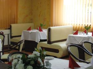 A restaurant or other place to eat at Hotel Premiere