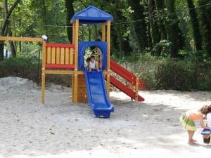 Ο χώρος παιχνιδιού για παιδιά στο Hotel Marina