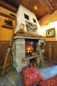 Area soggiorno di L'Ancien Paquier Chambre D'Hotes