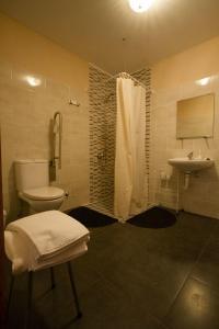 A bathroom at La Trapería Hostal - Pensión con encanto