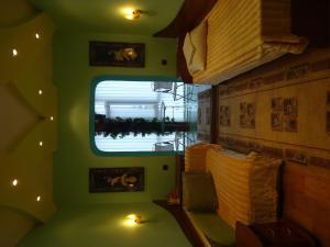 Кровать или кровати в номере Hotel Victoriya