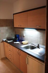 A kitchen or kitchenette at Apartamentos Matorral