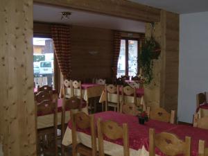Restaurace v ubytování Alpen Roc