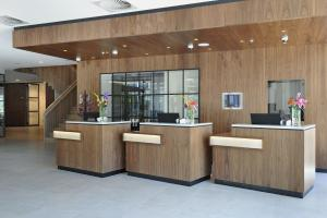 The lobby or reception area at Courtyard by Marriott Amsterdam Arena Atlas