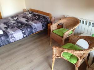 Łóżko lub łóżka w pokoju w obiekcie Winnica Płochockich Country House
