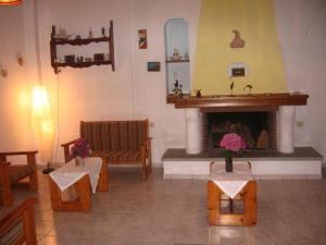 Εστιατόριο ή άλλο μέρος για φαγητό στο Hotel Marina