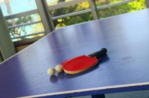 Ping-pong facilities at Hotel Hanatemari or nearby