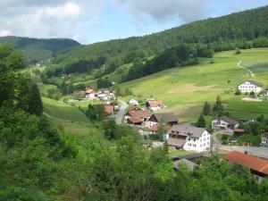 A bird's-eye view of Miramont Trekking Hof