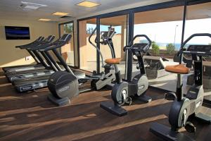 The fitness center and/or fitness facilities at Radisson Blu Resort & Spa, Ajaccio Bay