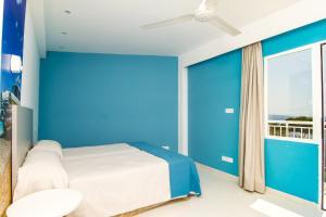Letto o letti in una camera di Hostel Floridita