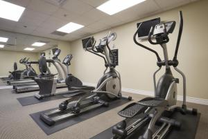 The fitness center and/or fitness facilities at Salt Lake Plaza Hotel at Temple Square