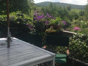 A balcony or terrace at All Seasons Bed & Breakfast