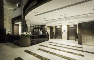 منطقة الاستقبال أو اللوبي في Howard Johnson Dammam Hotel