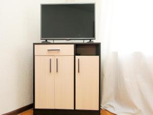 Телевизор и/или развлекательный центр в ApartLux Leninsky Suite