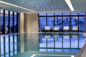 The swimming pool at or close to Hilton Batumi