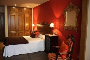 Cama o camas de una habitación en Casa María Cecilia