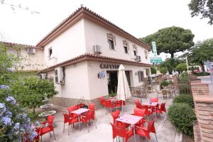 A restaurant or other place to eat at Hotel Andalucia