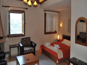 Χώρος καθιστικού στο Guesthouse Kallisti