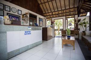 The lobby or reception area at Matahari Tulamben Resort, Dive & SPA