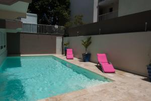 The swimming pool at or near Hôtel Select - Réunion