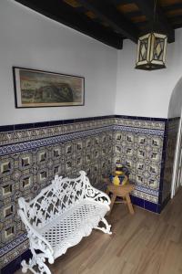 Zona de estar de Apartamentos Casamonteymar Bas-Ser
