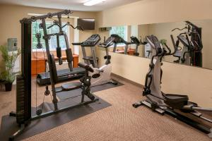The fitness center and/or fitness facilities at Microtel Inn & Suites Beckley East