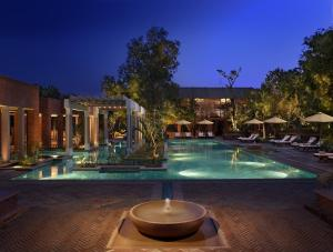 The swimming pool at or near ITC Mughal, A Luxury Collection Resort & Spa, Agra