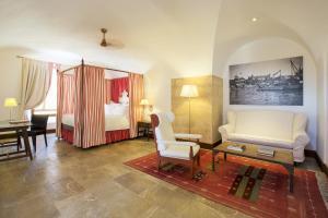 Część wypoczynkowa w obiekcie Cap Rocat, a Small Luxury Hotel of the World