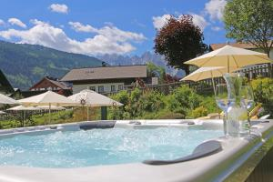 The swimming pool at or near Hotel Sommerhof