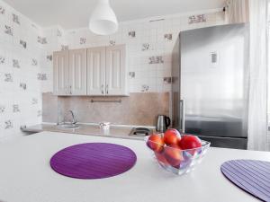 Кухня или мини-кухня в ROTAS On Moskovsky 224 Floor 9