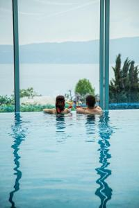 The swimming pool at or near Hotel & Spa Tino Sveti Stefan