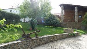 A garden outside Quinta Entre Rios