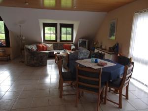 Essbereich in der Ferienwohnung