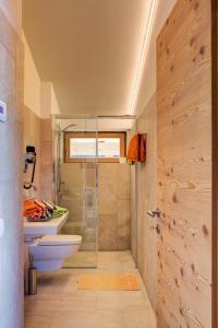 Ein Badezimmer in der Unterkunft Ratzeshof