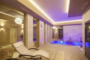 בריכת השחייה שנמצאת ב-מלון כשר קינג דייויד פראג או באזור