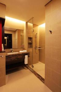 A bathroom at Grandis Hotels and Resorts