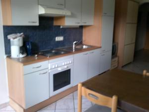 A kitchen or kitchenette at Scheffauerhof