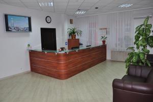 Лобби или стойка регистрации в Гостиница Славянка
